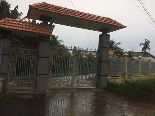 Thi công cổng sắt