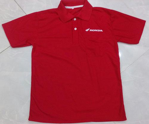 Áo thun Honda màu đỏ