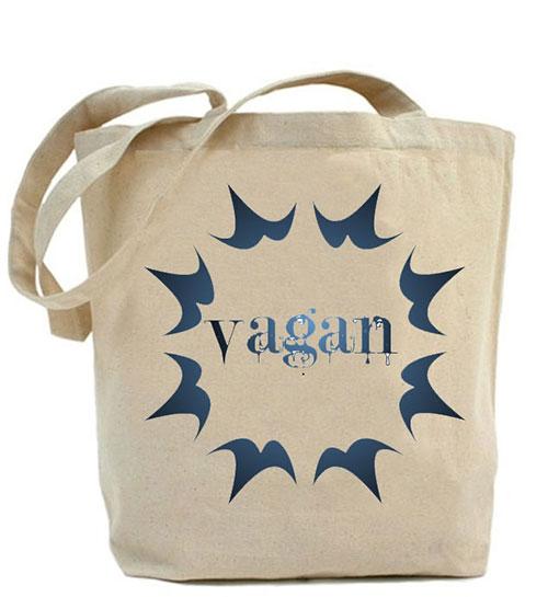 Canvas bag Vagan
