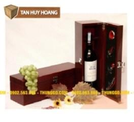Hộp Gỗ Đựng Rượu Vang