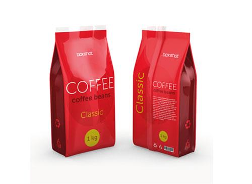 In túi đựng cà phê