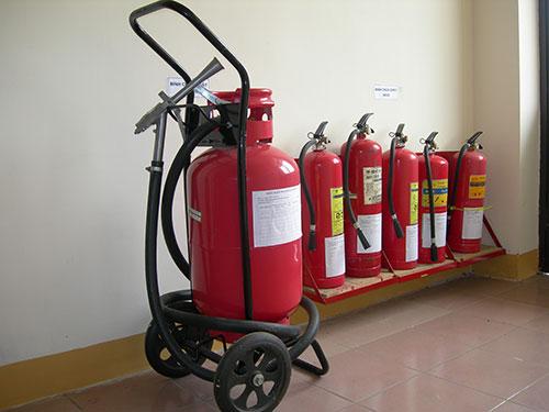 Nạp sạc bình chữa cháy