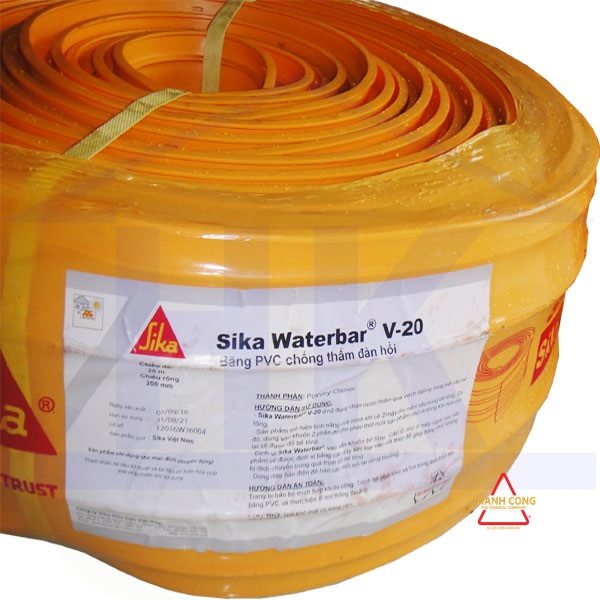 Băng cản nước Sika Waterbar V20