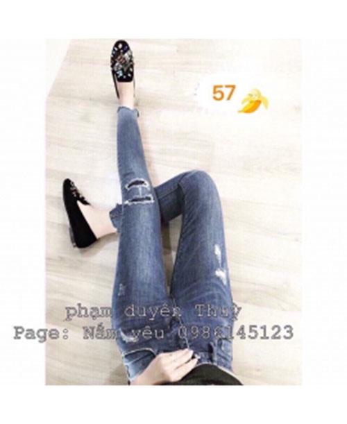 Quần dài jean nữ