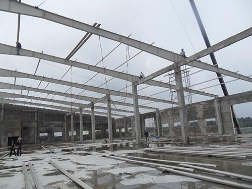 Xây dựng công trình công nghiệp