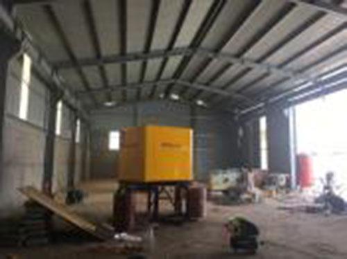 Xây dựng và lắp đặt nhà xưởng