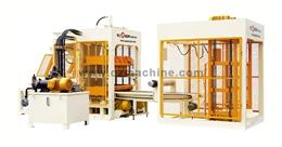 Máy sản xuất gạch tự động QT16