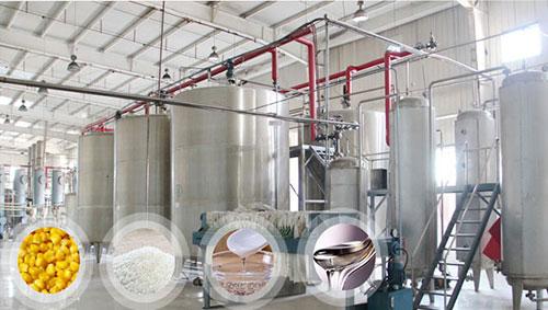 Máy móc sản xuất mạch nha