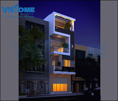 Thiết kế kiến trúc nhà lô