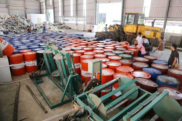 Dịch vụ xử lý rác thải, chất thải