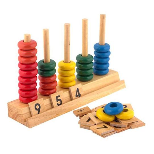 Đồ chơi bàn tính học đếm