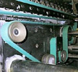 Dây đai máy gập và máy dán