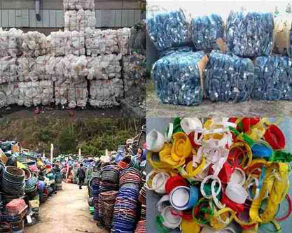 Thu mua phế liệu nhựa