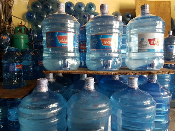 Sản xuất nước uống đóng bình