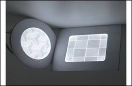 Đèn ốp nổi tròn 3D