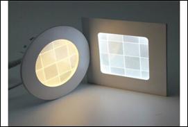 Đèn âm trần mỏng tròn 3D