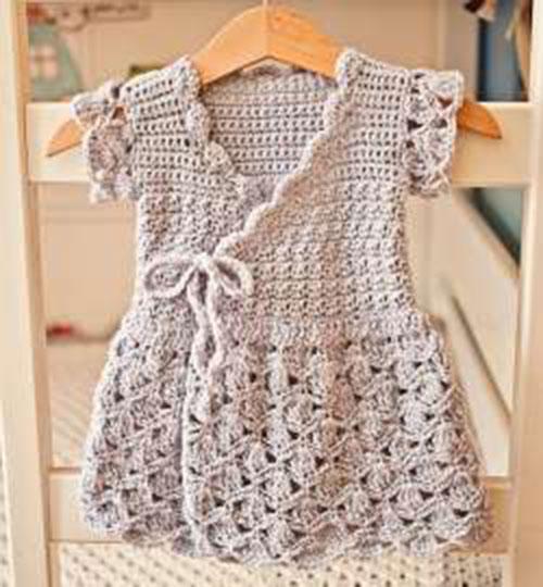 Váy len trẻ em