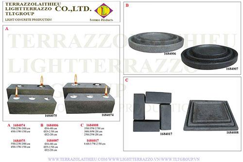 Vòi phun nước Terrazzo
