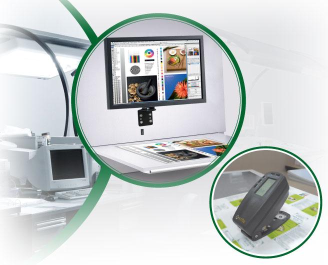 Hệ thống máy kiểm tra chất lượng tờ in