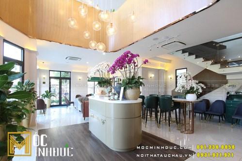 Thi công nội thất quán cafe Hải Phòng
