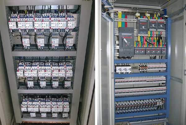 Lắp đặt tủ điện điều khiển