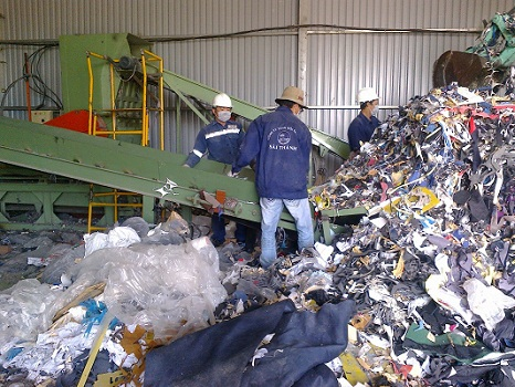 Thu mua phế liệu công nghiệp