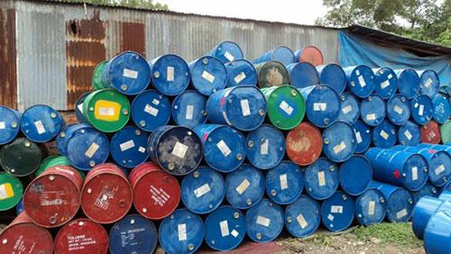 Thua mua phế liệu thùng phuy
