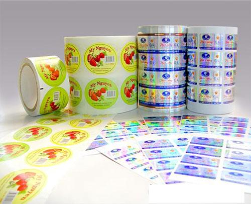 Thiết kế, in ấn nhãn mác