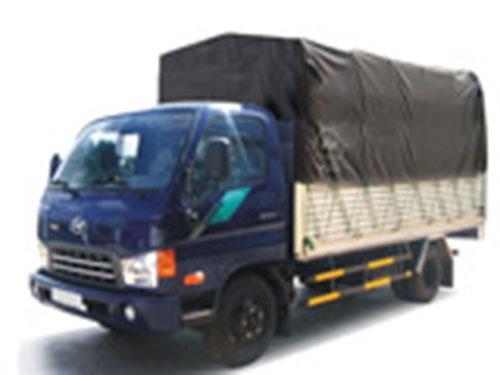 Xe tải Hyundai thùng mui bạt