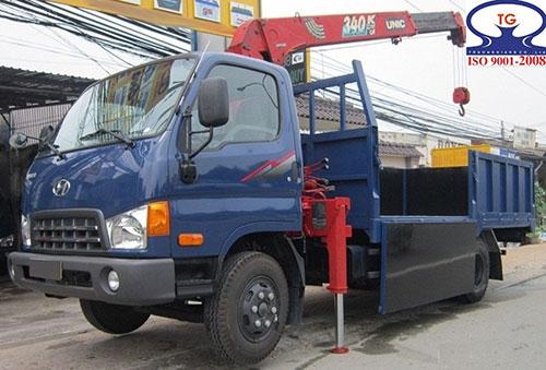 Xe cẩu tự hành Hyundai 5.7 tấn