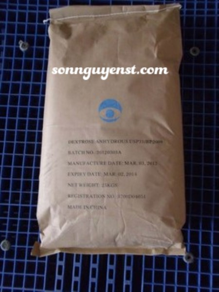 Dextrose Anhydrous (C6H12O6)