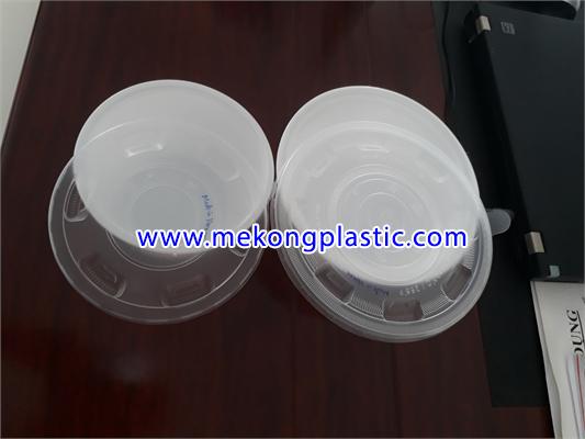 Tô chén nhựa