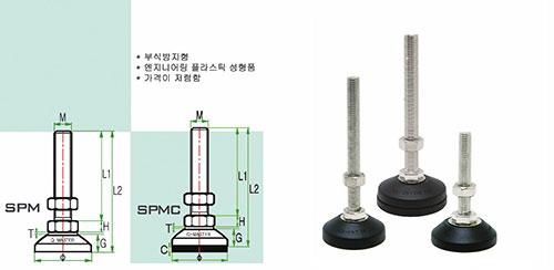 Chân tăng chỉnh SPM series