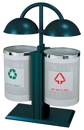 Thùng rác phân loại rác 2 ngăn