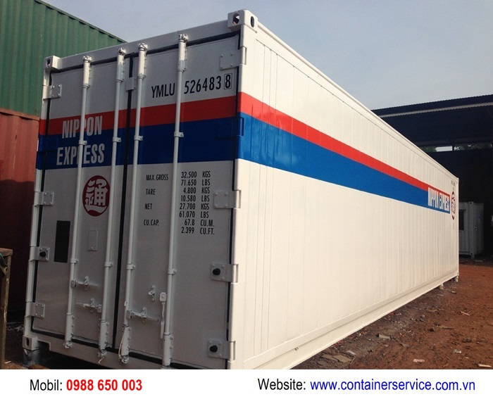 Container mới