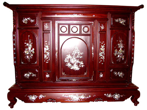 Tủ thờ gỗ