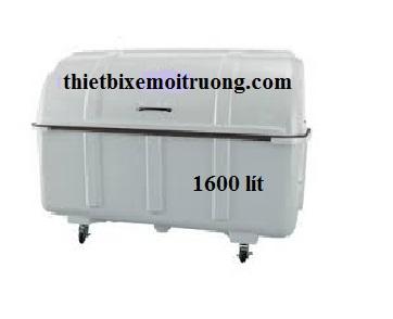 Thùng rác Composite 1600l