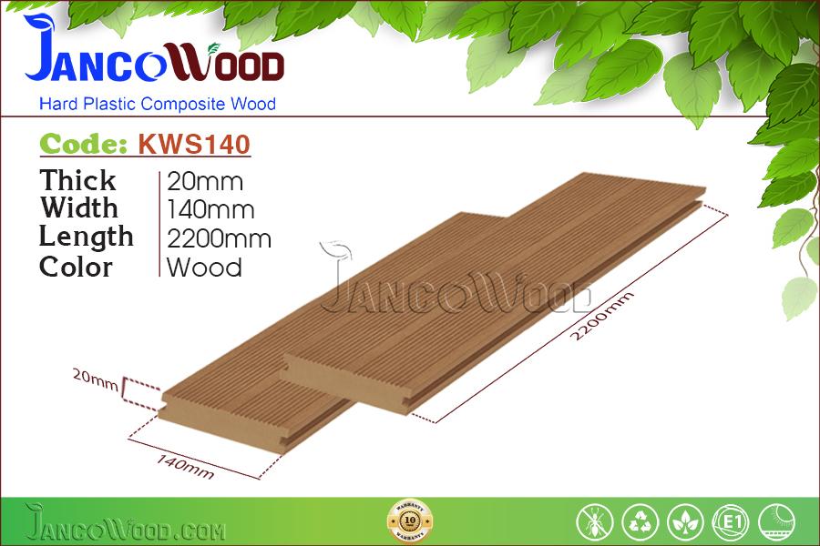 KWS140-Wood Thanh đặc