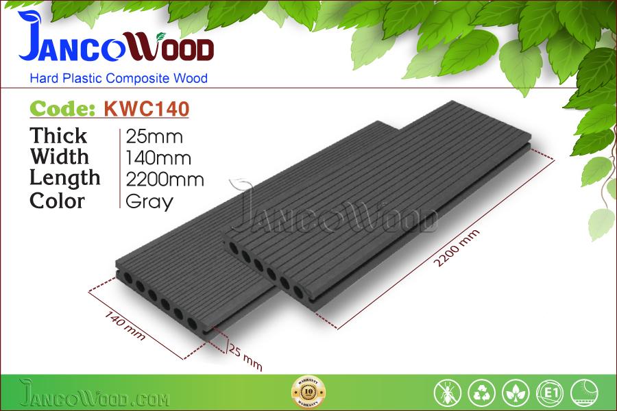 KWC140-Gray Lỗ tròn