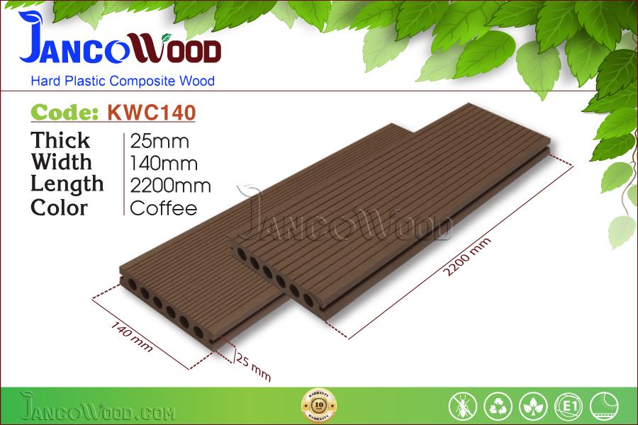 KWC140-Coffee Lỗ tròn