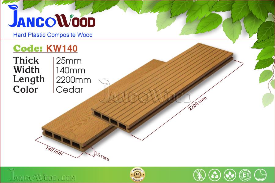 JancoWood KW140-Cedar