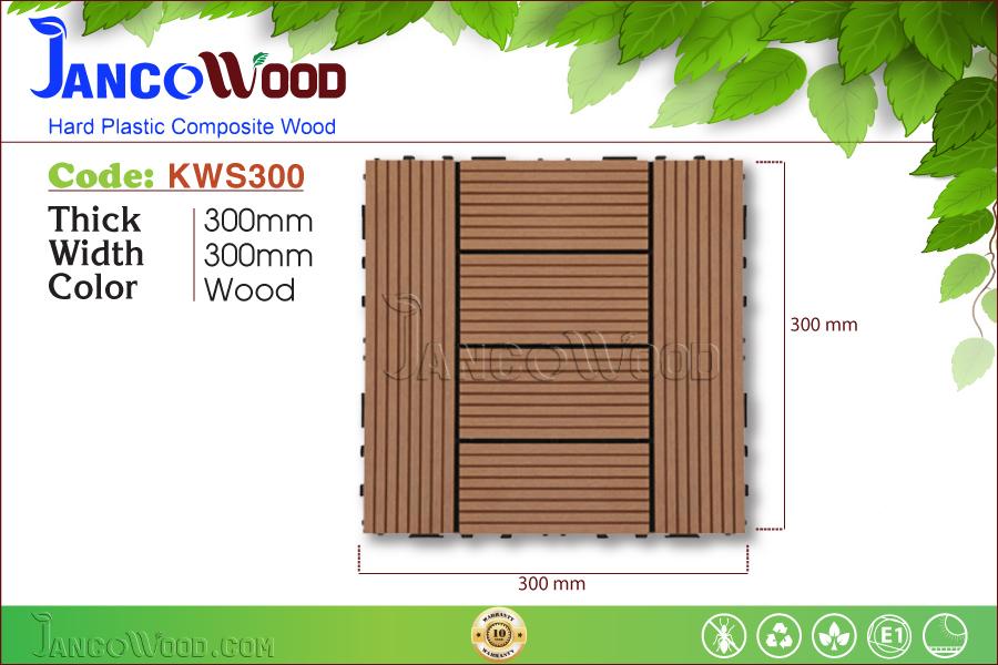 Tấm vỉ gỗ nhựa KWS300-Wood
