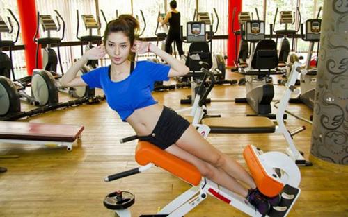 Quảng cáo trung tâm tập thể dục