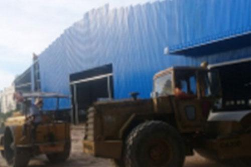 Thi công dựng nhà xưởng, công nghiệp
