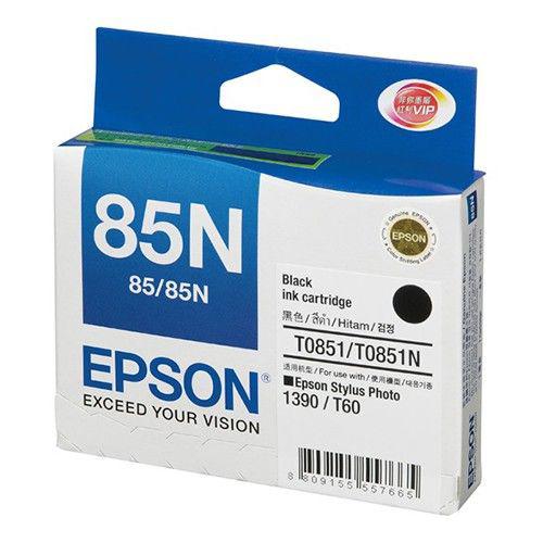 Mực in Epson 85N Black