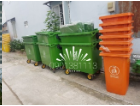 Thùng rác di động