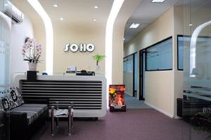 Cho thuê văn phòng Soho