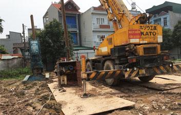 Xây dựng khu tái định cư