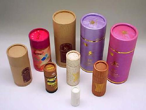 Lon trà ống giấy
