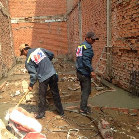Dịch vụ thi công, xây dựng
